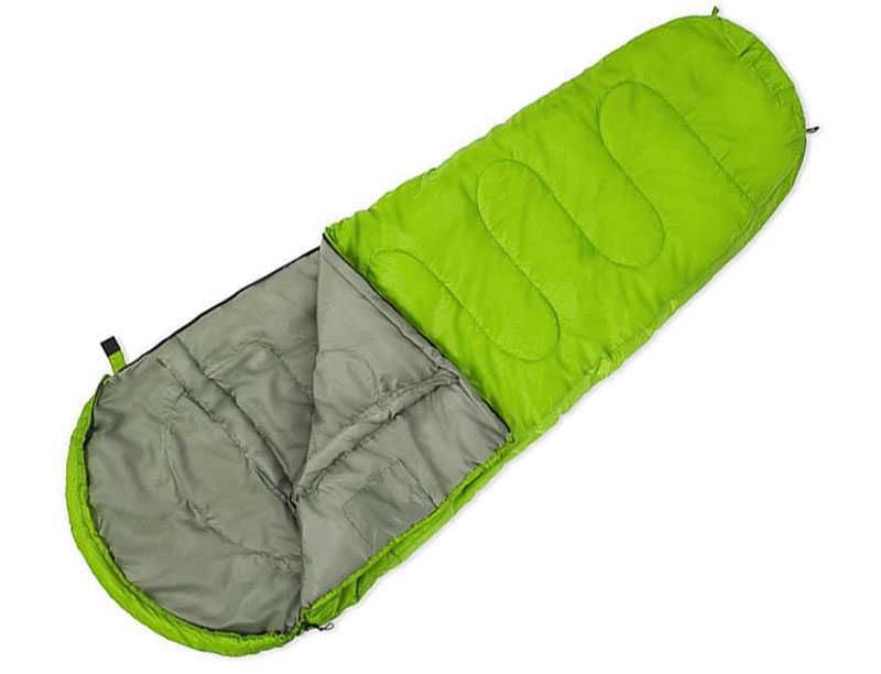 190T Polyester Synthetic Insulation Sleeping Bag Lightweight Sleeping Bag