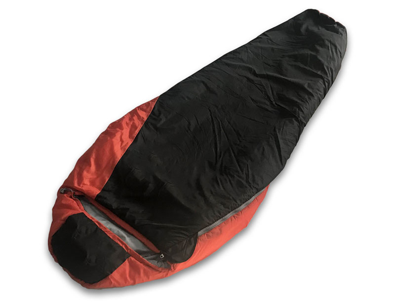 0℃ Backpacking Mummy Sleeping Bag Lightweight Cold Weather Sleeping Bag