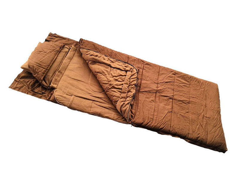 0℃ Premium Canvas Winter Adult Outdoor Sleeping Bag