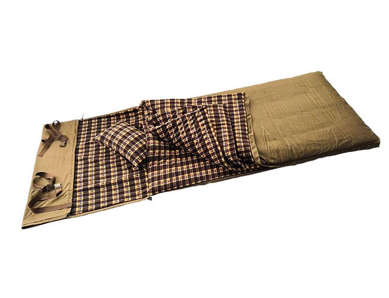 0℃ Cotton Filling Canvas Sleeping Bag Flannel Sleeping Bag