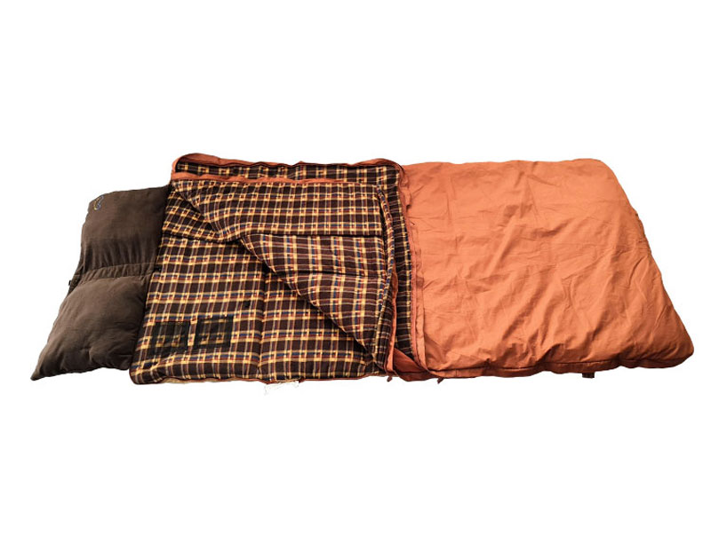 Build-in Pillow Warm Comfortable Canvas Sleeping Bag