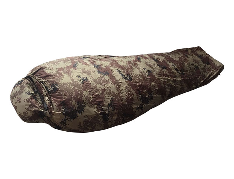 Camouflage 950 Fill Power Duck Down Sleeping Bag