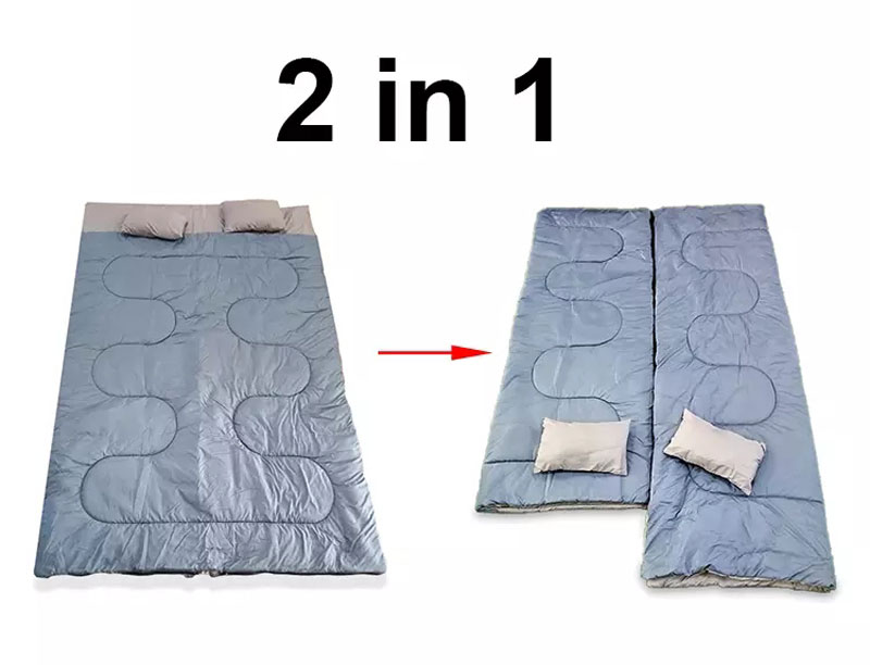 2 Person Backpacking Double Sleeping Bag