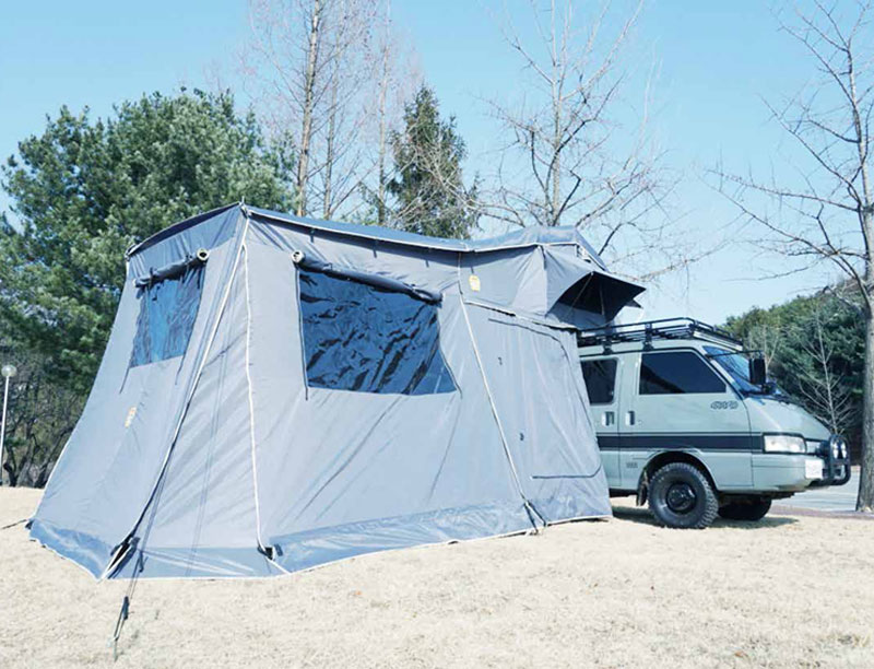 Huge 420D Oxford Ripstop Soft Shell Roof Top Tent