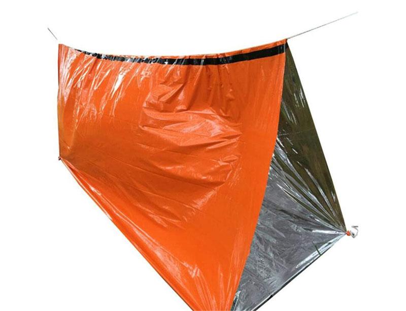 Emergency Survival Aluminum Body Warmer Camping Sleeping Bag Tarp