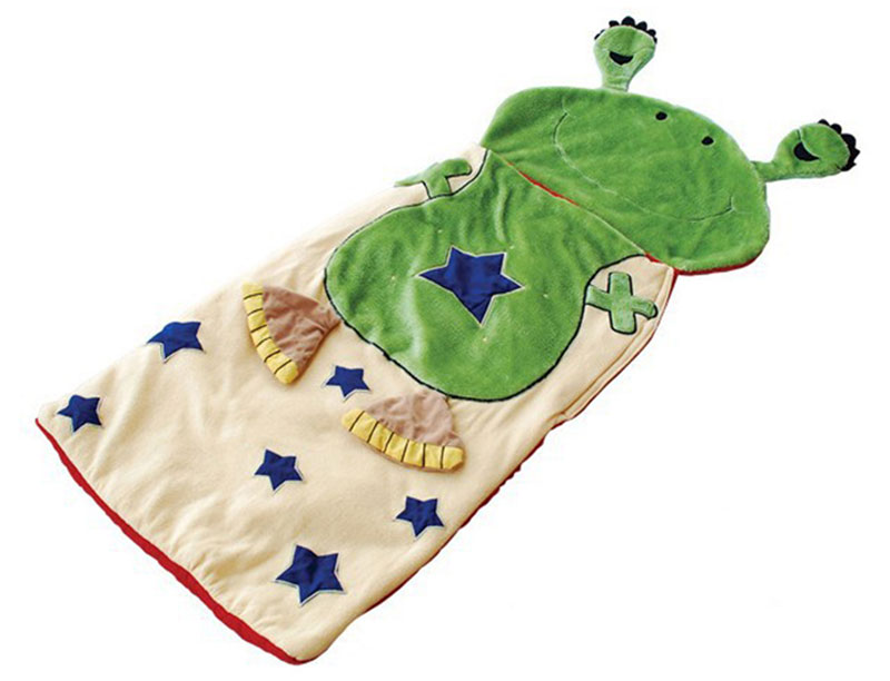 Environmental Protection Kids Play Cartoon Sleeping Bag