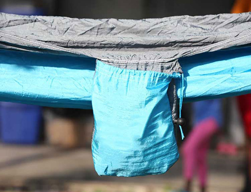 Nylon Portable Camping Parachute Hammock