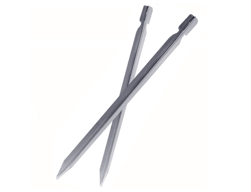 Ultralight Aluminum Alloy Tri-cone Shaped Stake for Fixing Tent, Camping and Gardening