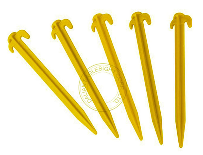 Light Weight Heavy Duty Plastic Stake for Fixing Tent, Camping, Gardening and More