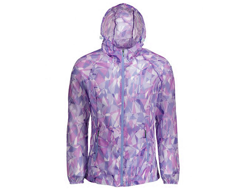 UPF Clothing OEM - UPF 50 Sun Protective Waterproof Quick-Dry Camo Windbreaker Jacket