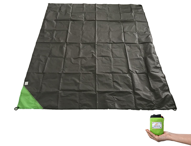 Portable Ultra-thin Waterproof Folding Pocket Size Beach Picnic Blanket