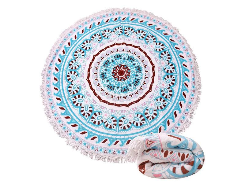 150 cm Giant Round Tassel Beach Blanket