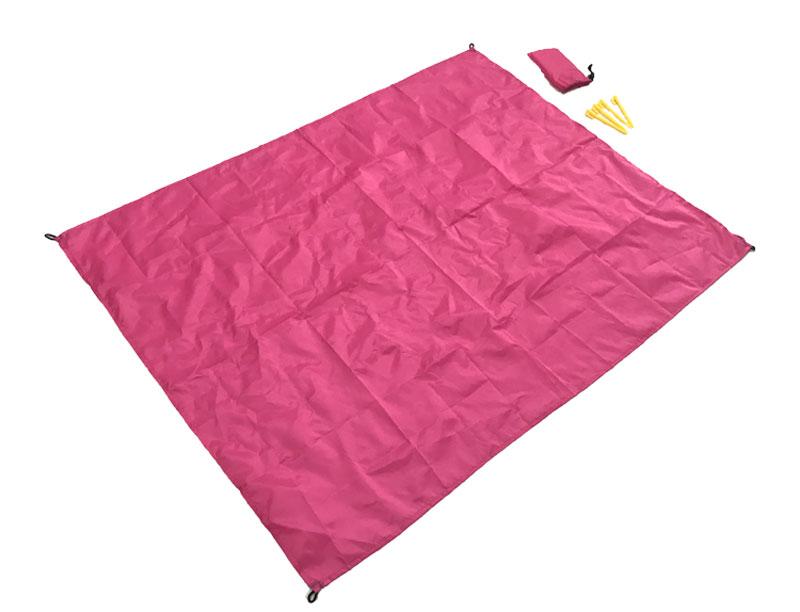 Portable Ultra-thin Foldable Outdoor Waterproof Pocket Picnic Blanket Sandproof Blanket