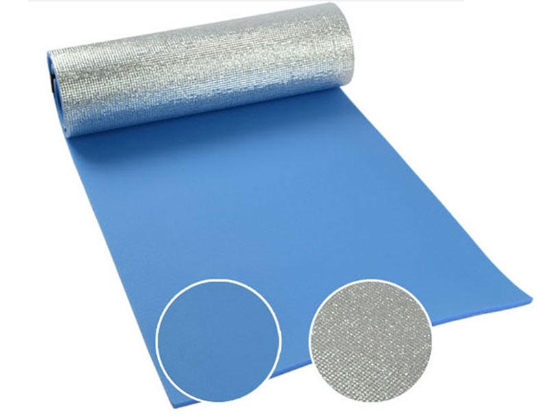 Multifunction XPE Camping Foam Tent Floor Mat Camping Foam Pad Rollable Aluminum Foil Foam Sleeping Pad