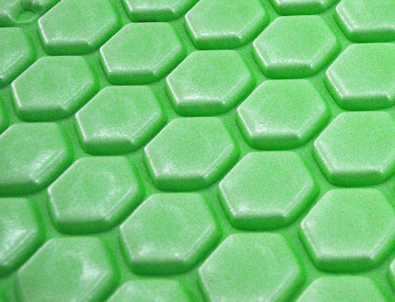 Aluminum Foil Hexagon Shape IXPE Camping Mat