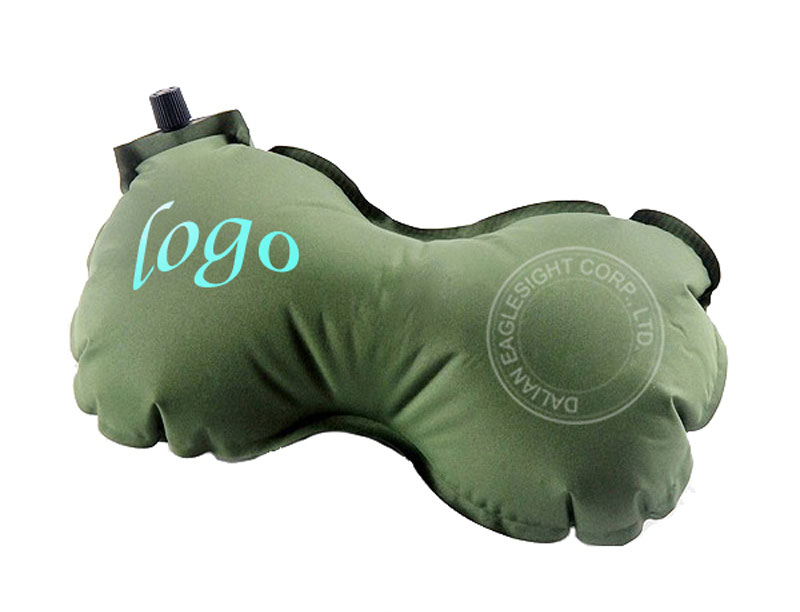 Travel Small Lightweight Air Self-inflating Car Seat Neck Pillow