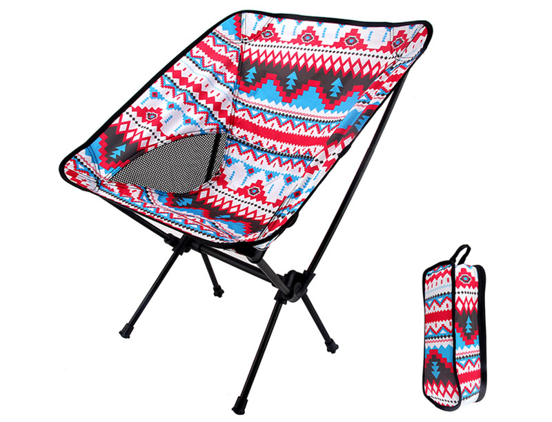 Ultralight 7075 Aluminum 600D Oxford Canopy Outdoor Folding Chair Heavy Duty Camping Chair