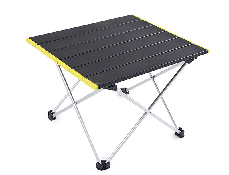 Compact Lightweight Foldable Aluminum Top Camping Table Portable Camping Table