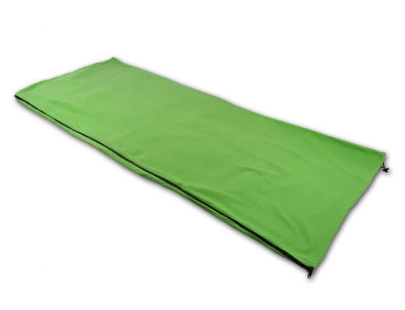 Outdoor Ultralight Envelope Microfiber Polar Fleece Sleeping Bag