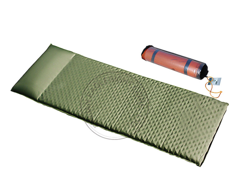 Side Sleeper Self-Inflating Sleeping Pad With Pillow