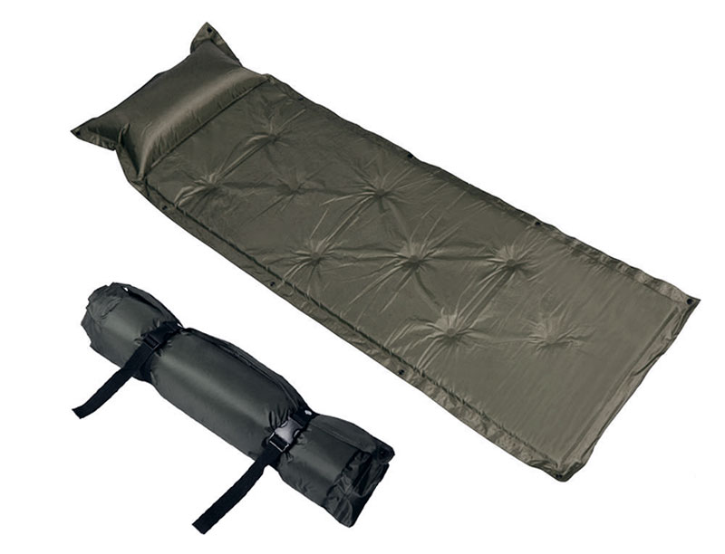 Built-in Pillow Self-inflating Sleeping Pad for Camping