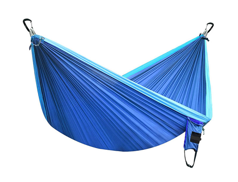 Double and Single Nylon Parachute Camping Hammock SGS Certified Heavy Duty Hammock