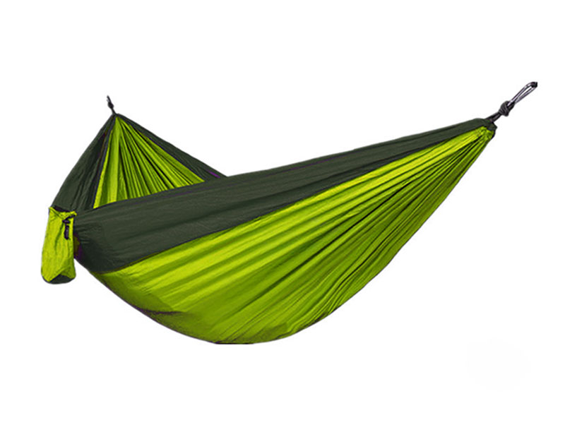 Portable Light Weight Heavy Duty Parachute Nylon Camping Hammock For Yard Quick Dry Hammock