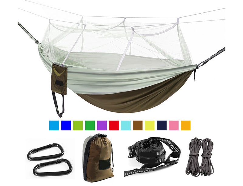 Light Weight Heavy Duty Jungle Hammock with Mosquito Net for Jungle Rainforest Camping