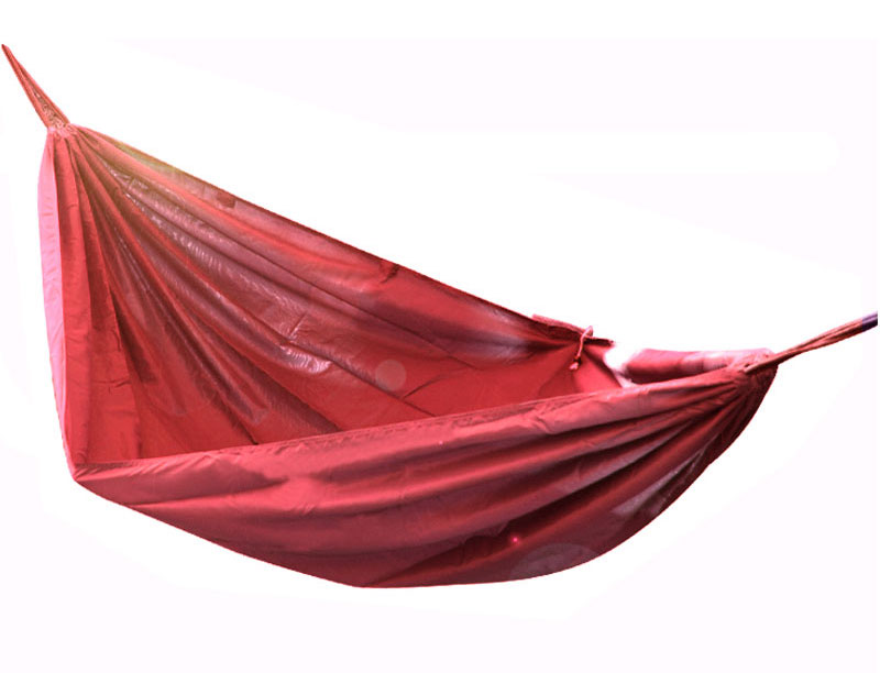 Heavy Duty 210T Nylon Parachute Fabric Hammock Light Weight Single and Double Hammock