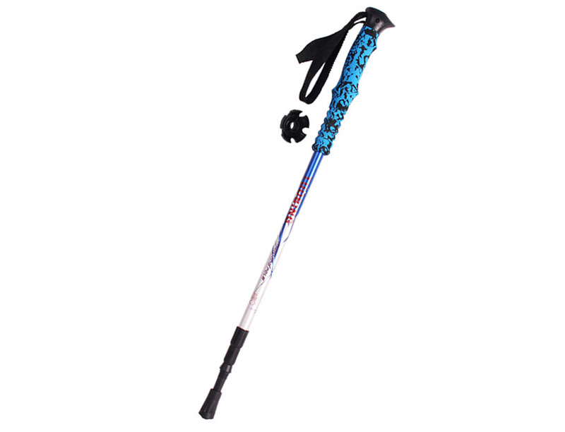 Adjustable Travel Hiking Walking Trekking Pole With EVA Foam Handle