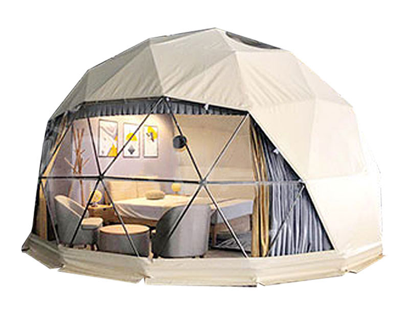 4 M ~ 40 M Diameter Hemisphere Waterproof Party Luxury Dome Tent