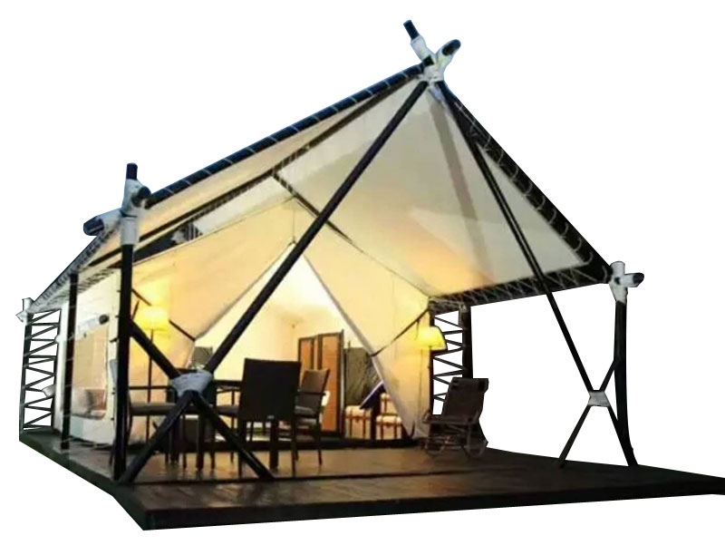 Camping Eco Recreation Canvas Canopy Safari Tent House
