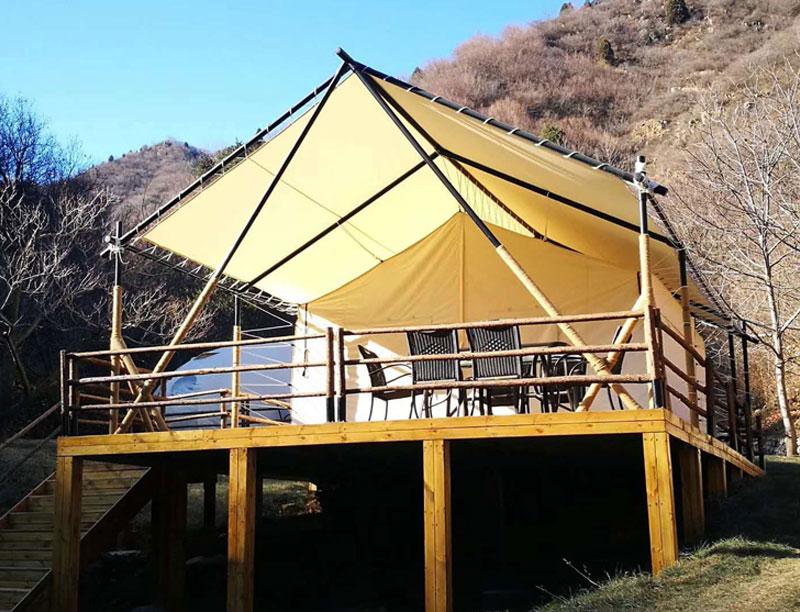 Camping Eco Recreation Canvas Canopy Safari Tent House