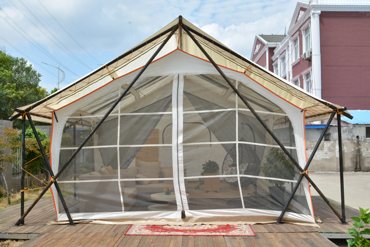 Extended Family Travel UV Protection Luxury Camping Hotel Tent