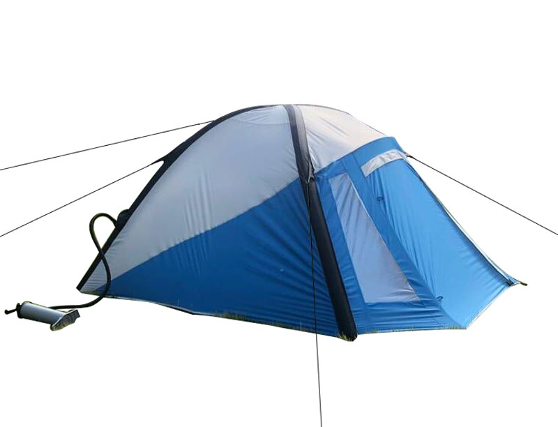 3 Person Windproof Inflatable Camping Tent