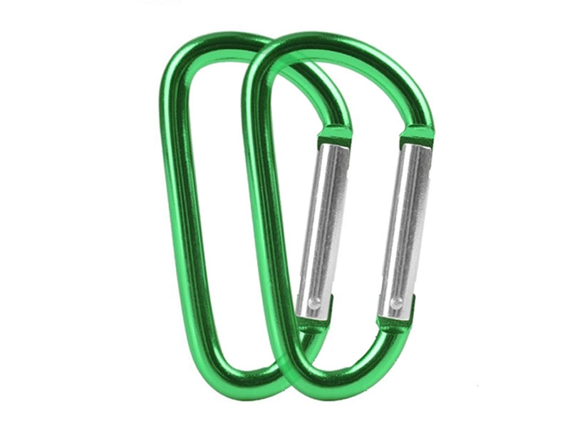 Camping Carabiner Aluminum For Keys D Shape Carabiner Light Weight Carabiner