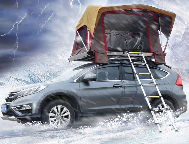 UV Protection Hydraulic Automatic Car Roof Top Tent Light Weight Roof Top Tent