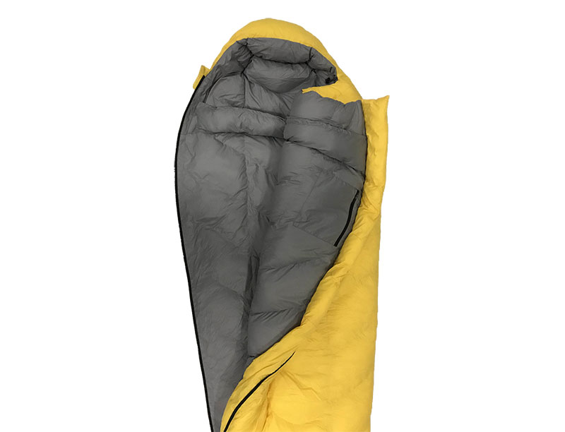 20D Recycled Fabric Sleeping Bag Nylon Ripstop Down Sleeping Bag