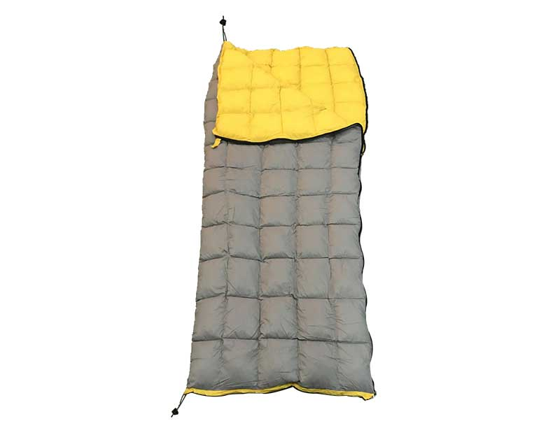 Recycled Fabric Sleeping Bag 2 Season Sleeping Bag Lightweight Sleeping Bag