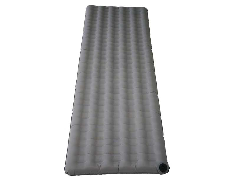 Eco Friendly Recycled Fabric Outdoor Ultralight Air Inflating Sleeping Pad