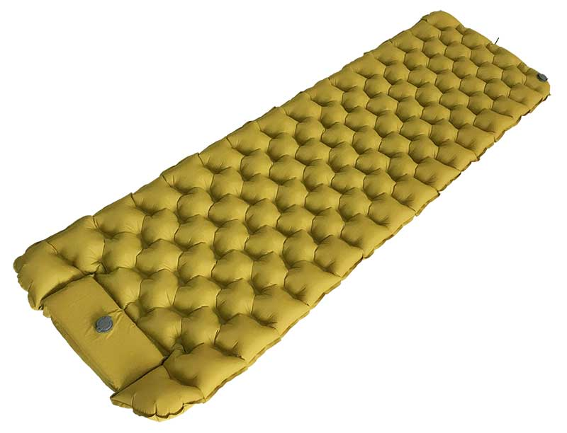 Light Weight Recycled Fabric Inflatable Sleeping Pad